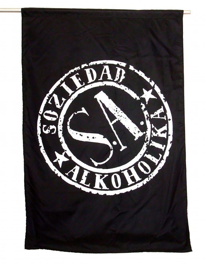 Bandera Vertical - SOZIEDAD ALKOHOLIKA