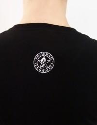 Camiseta Chica Manga Corta - Negra - Radioactiva