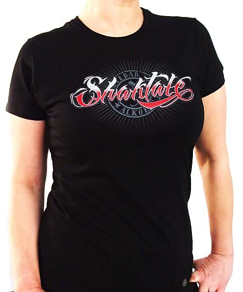 Camiseta Chica Manga Corta - Negra - Shaktale
