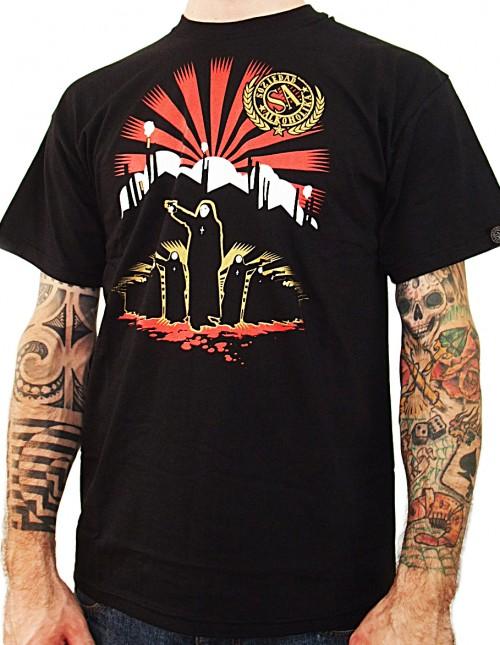Camiseta Chico Manga Corta - Negra - Soviet