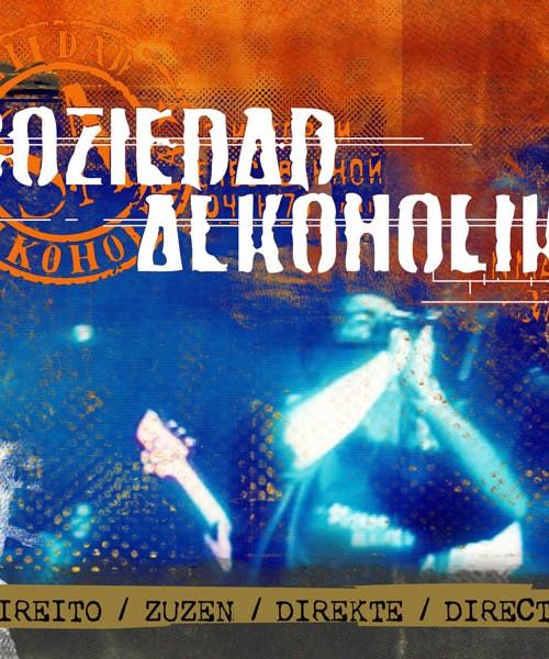 """SOZIEDAD ALKOHOLIKA – CD Digipack """"Directo"""""""