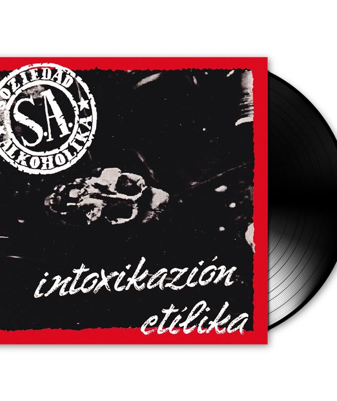 """SOZIEDAD ALKOHOLIKA – VINILO """"Intoxikazion Etilika"""""""