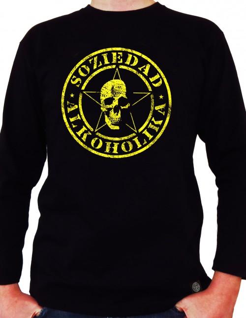 Camiseta Chico Manga Larga - Negra - Corrosiva