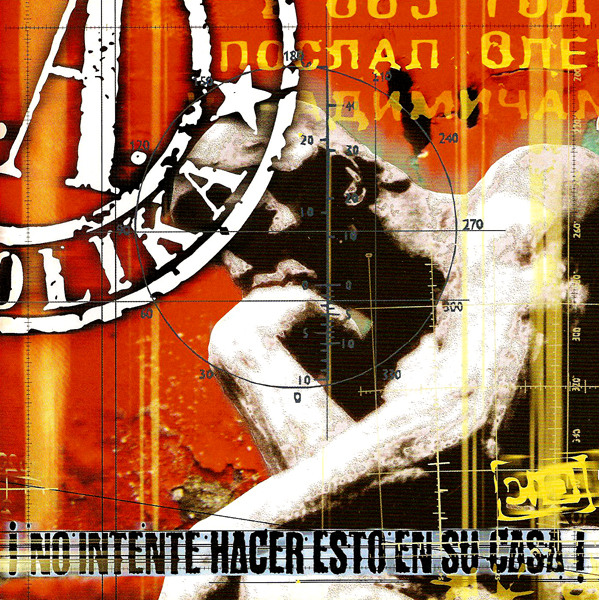 """SOZIEDAD ALKOHOLIKA – CD Digipack """"No Intente Hacer Esto en su Casa"""""""