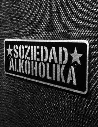 Placa Metalica - SOZIEDAD ALKOHOLIKA